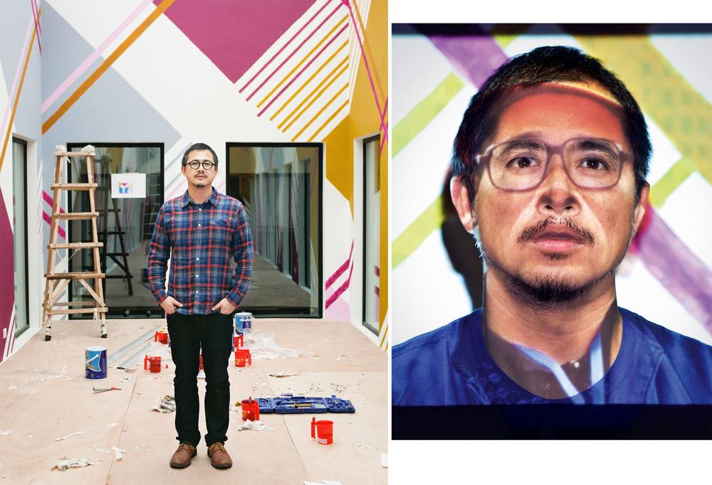 Artist Michael Lin