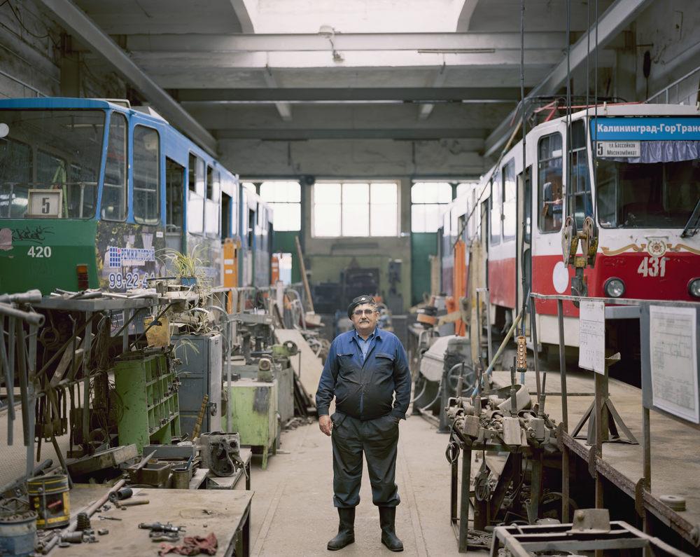 Tram depot engineer Viktor Evstafevic Klimov, Kaliningrad
