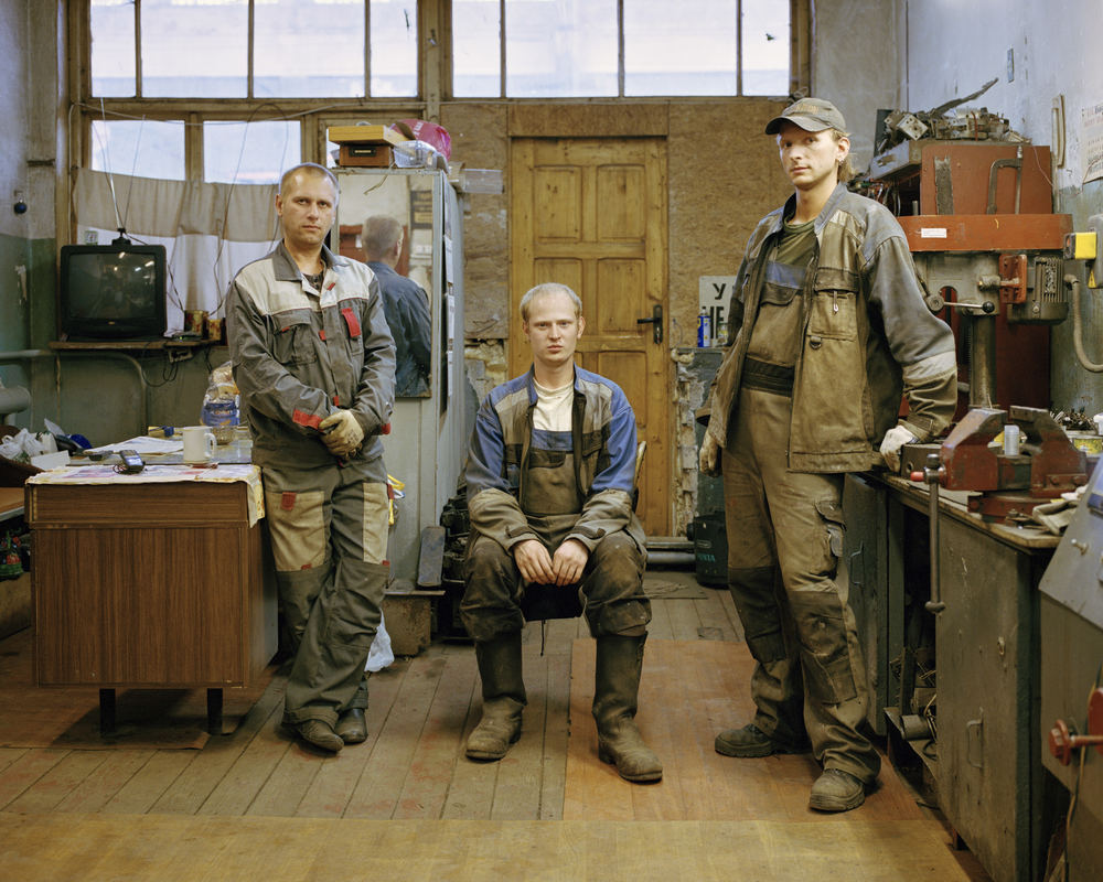 Young engineers of tram depot, Kaliningrad