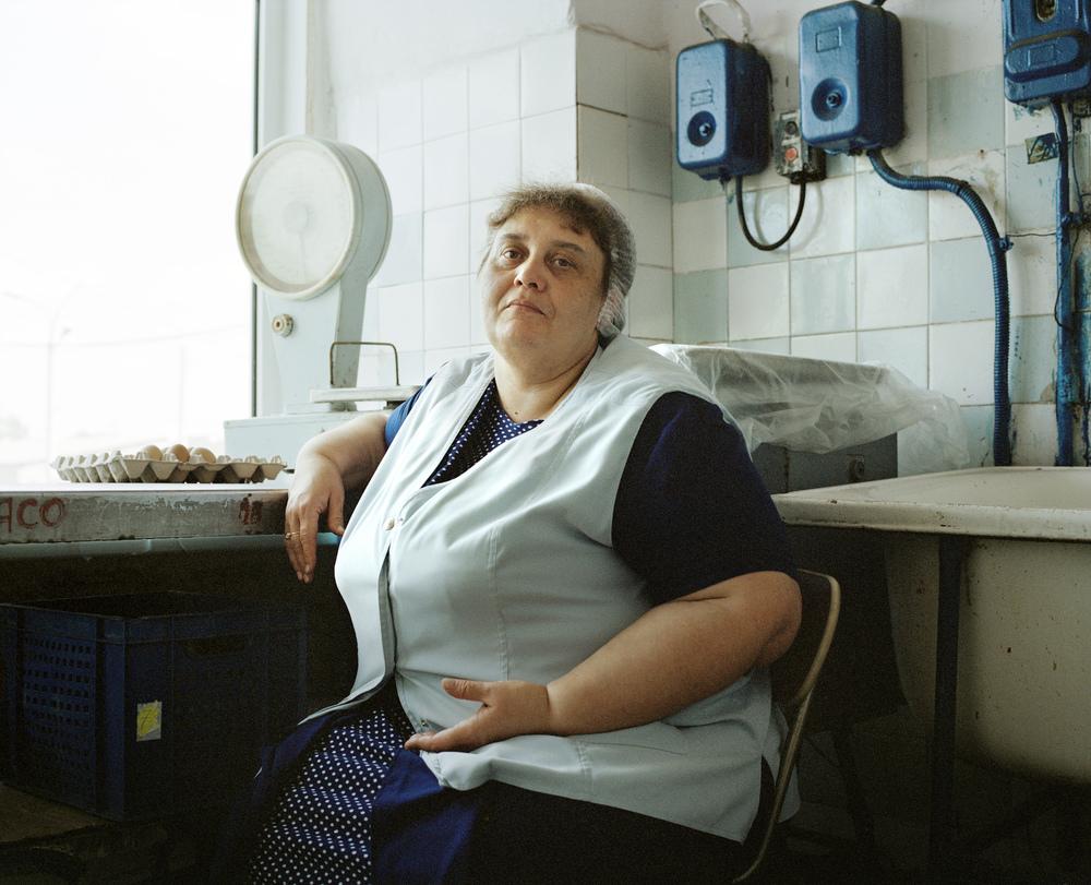 Liubov Proshkina, tram depot cook, Kaliningrad