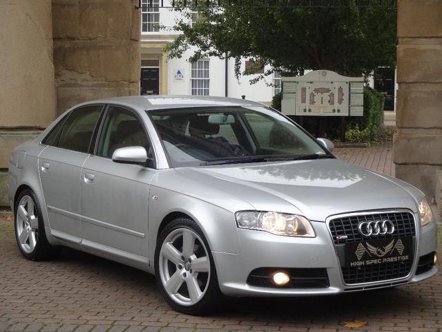 Audi A4 2.0 TDi TDV S Line 4dr Multitronic SAT NAV+FSH+2 KEYS