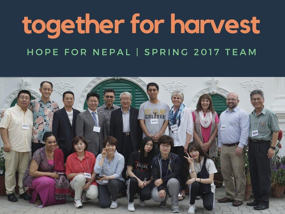 KATHMANDU, NEPAL | APRIL 11-21, 2017