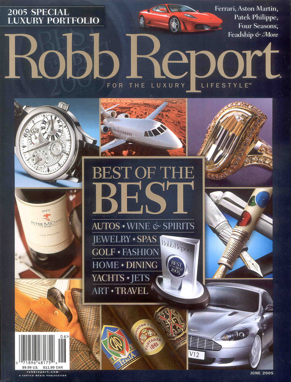 ROBB REPORT - BEST OF THE BEST LANDSCAPE ARCHITECTS