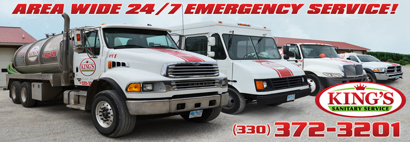 24/7 Emergency Services - King's Sanitary Service