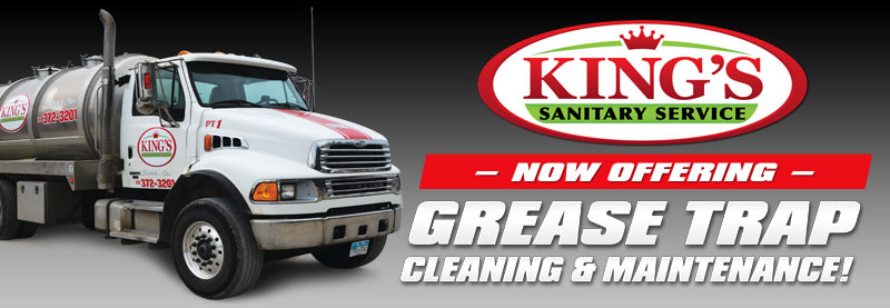 Now Offering Grease Trap Cleaning and Maintenance