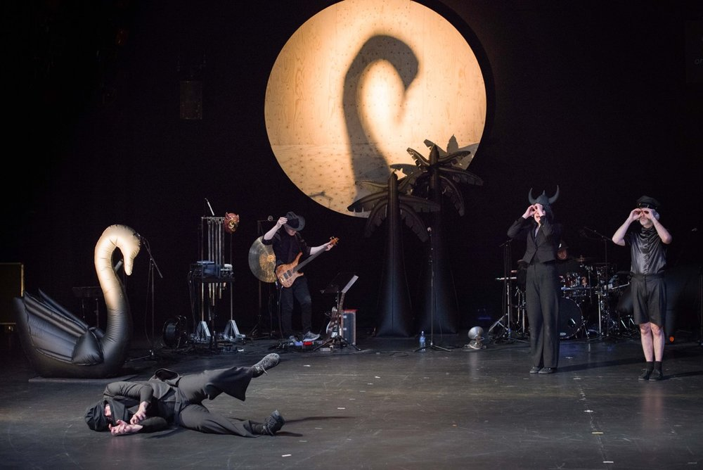 """Meyoucycle"" with Ictus @ Kaaitheater, photo: Anne Van Aerschot"