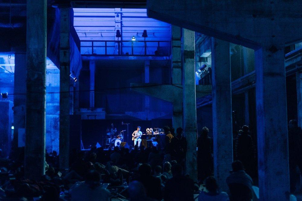 No [More] Pussyfooting @ The Long Now, Kraftwerk, Berlin photo: Camille Blake