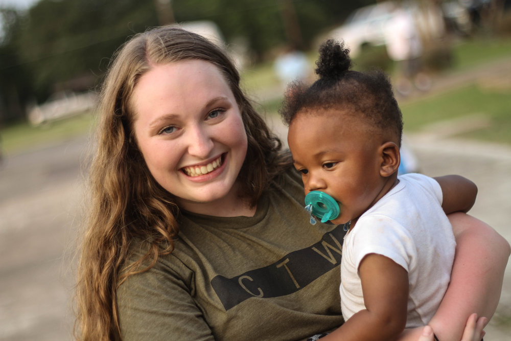 """Teaching the Bible story pushed me outside of my comfort zone but the kids made it so easy with their encouragement and love.  I leave Madisonville every year feeling amazed by God's work and inspired by these special kids."" – Rebecca White (3rd year leader)"