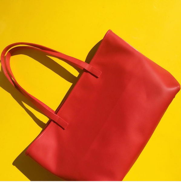 Theresa Tote in Red