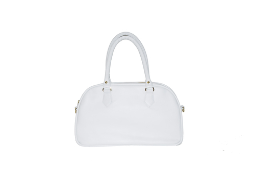 Candi Satchel- White