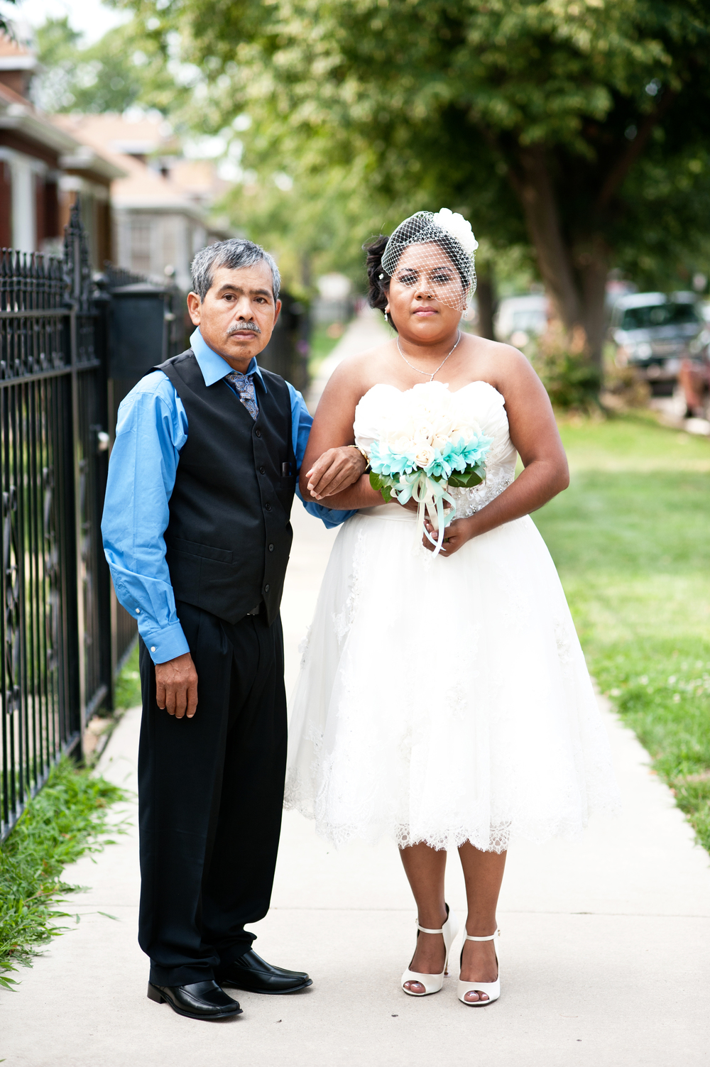 Urban Small Wedding Chicago Nomee Photography