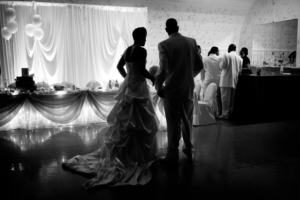 Urban Chicago Small Wedding Portrait Photographer Nomee Photography