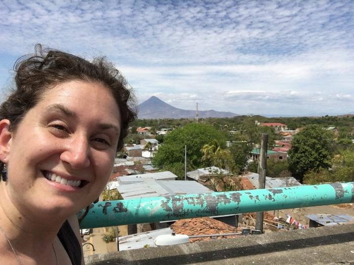 Volcano selfie (I had to do it!)