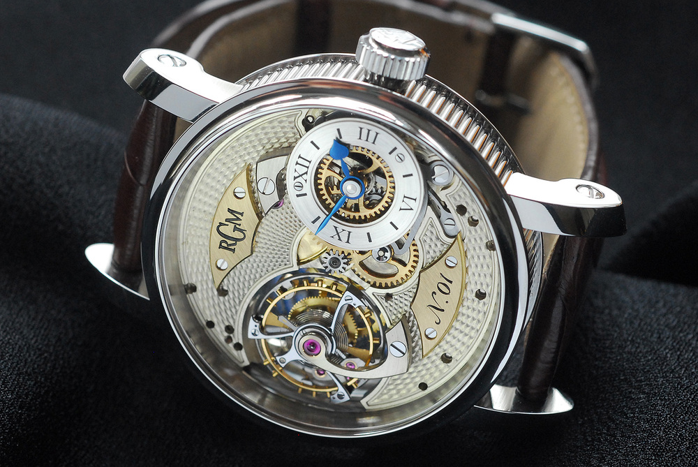 PENNSYLVANIA TOURBILLON Stainless Steel  - $95,000.00  Contact RGM for Pricing in Gold or Platinum.