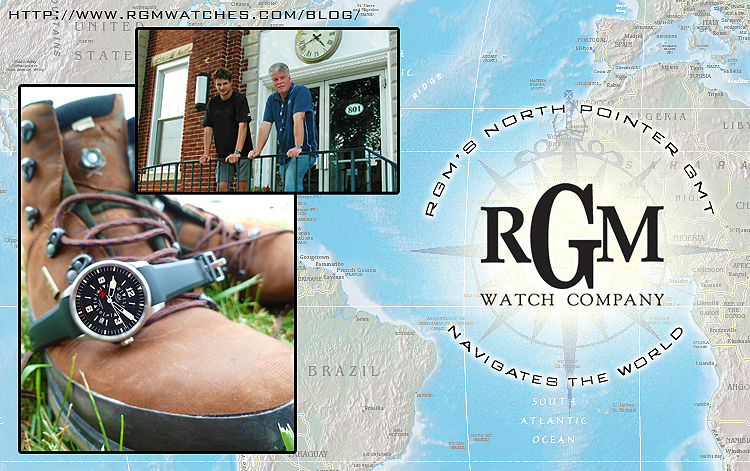 Travel the World with the RGM Watch Company