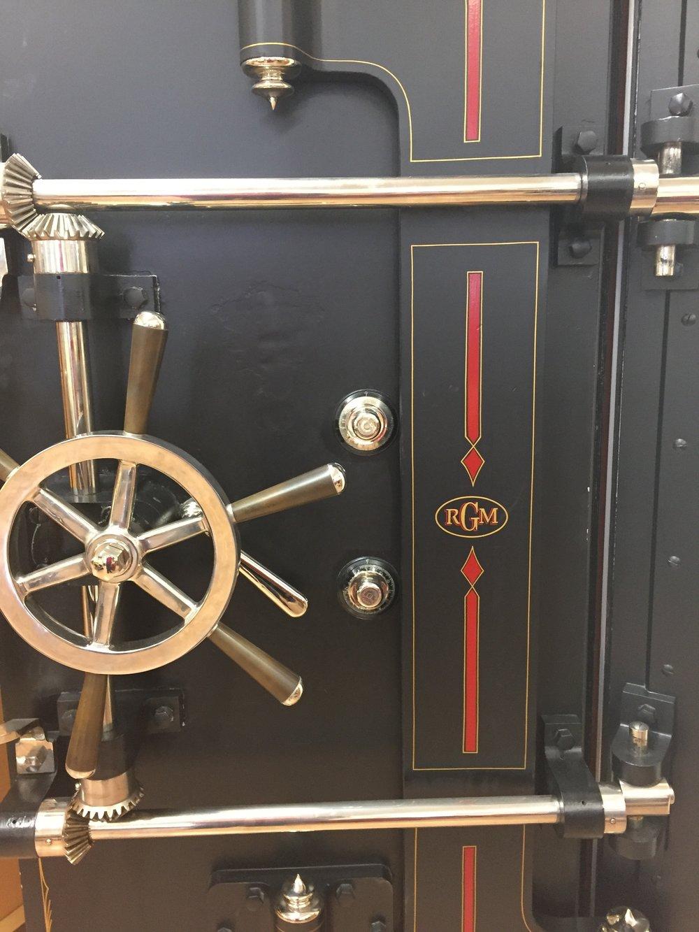 Main vault door