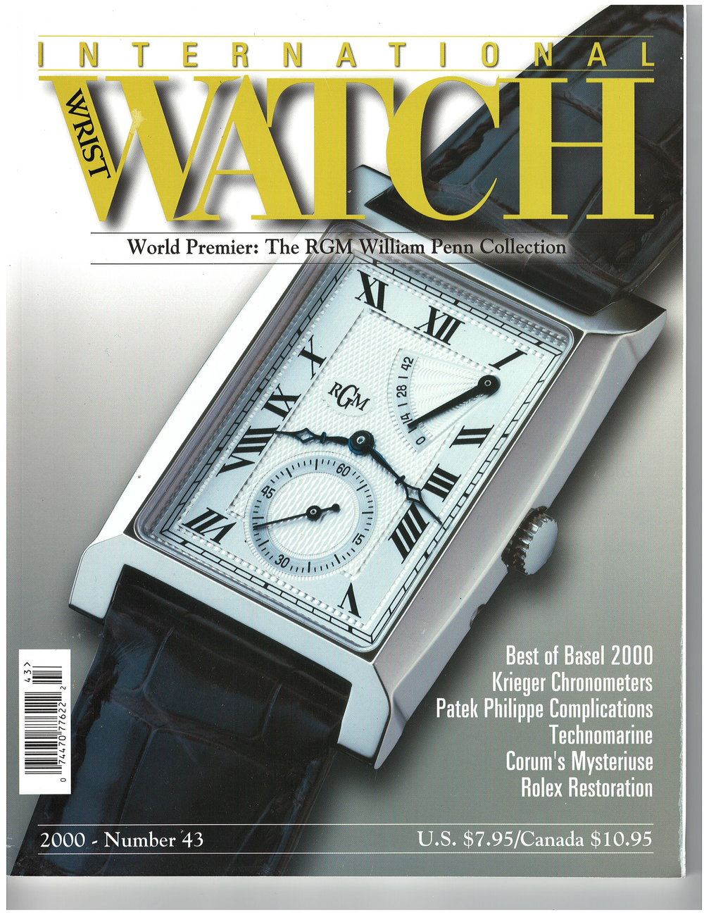 IW Magazine from the year 2000