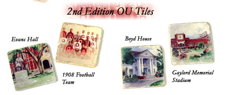 OU Coasters, 2nd Edition