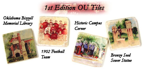 OU Coasters, 1st Edition