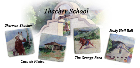 Thacher School Coasters