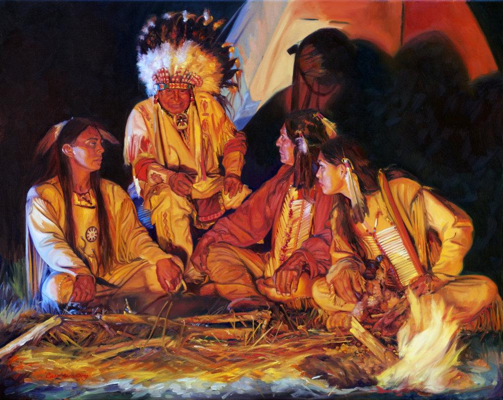 Listening to their Elder