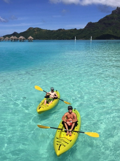 We love to kayak and they were available at all times at no charge.