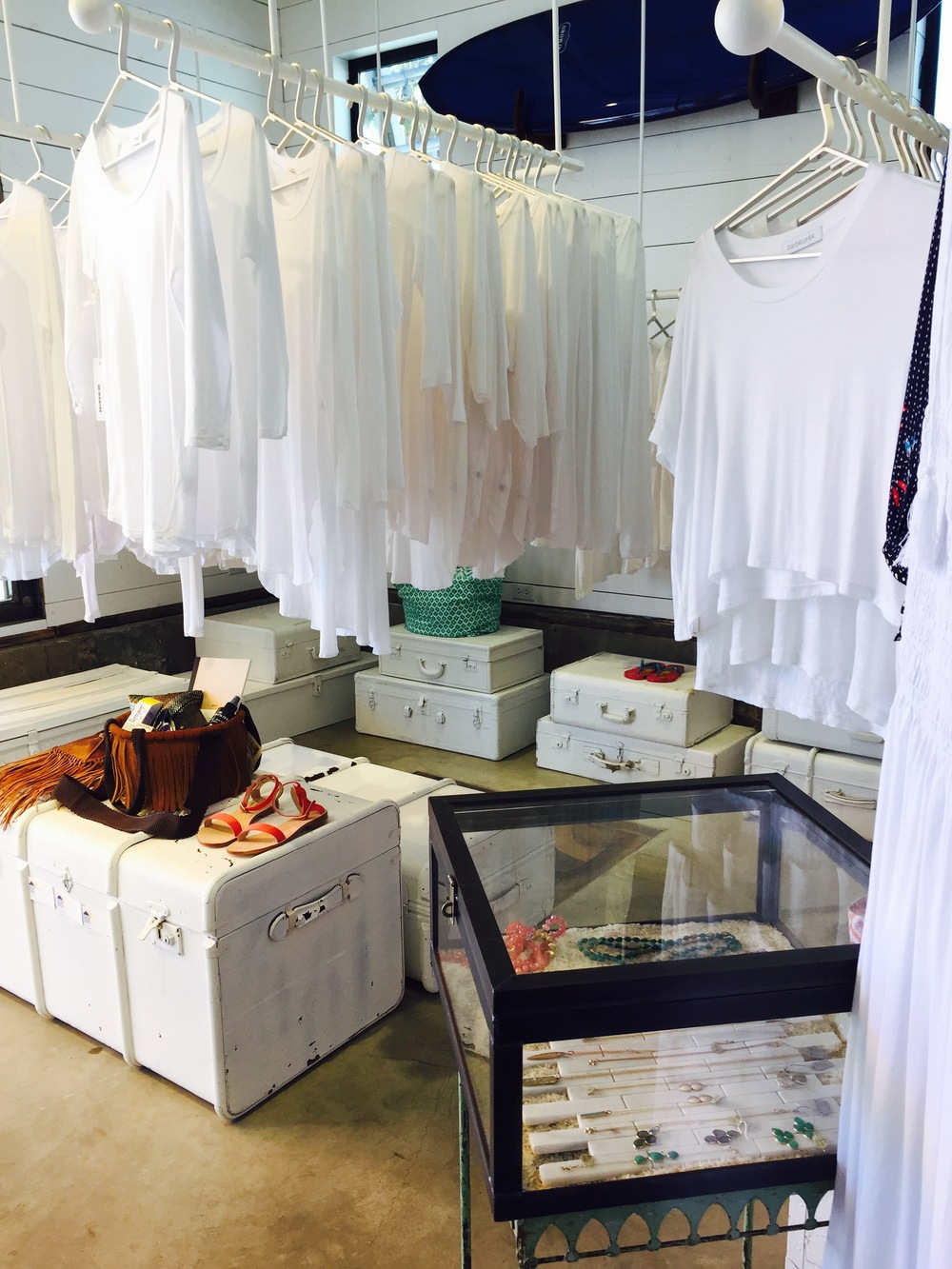 Summer Whites, Always work. Shrine for the White T-Shirt