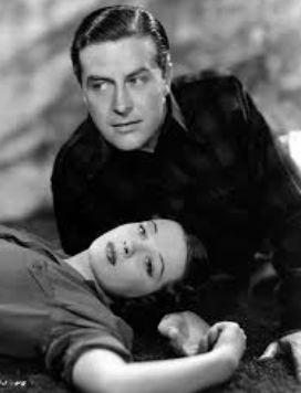 Patricia with Ray Milland from Untamed in 1940 - He was Patricia's favorite cinema actor.