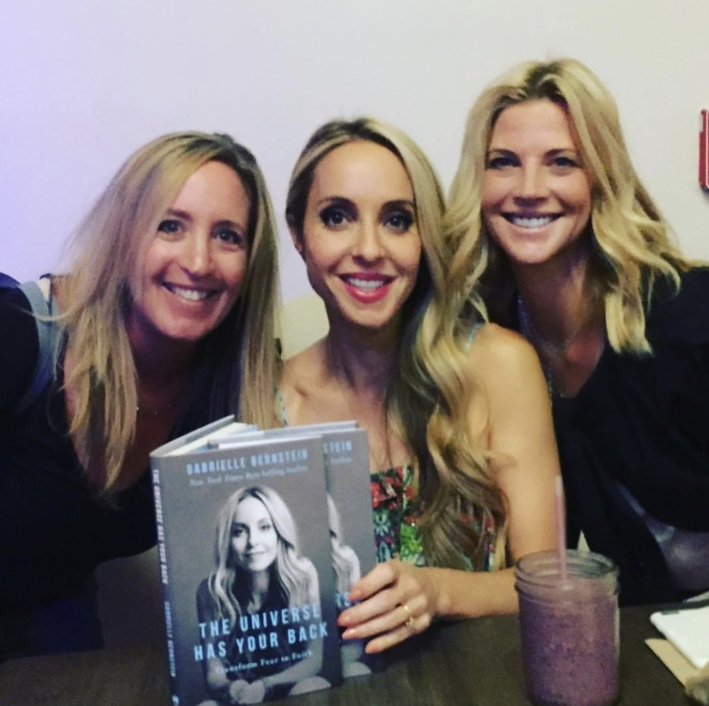 Here with Entrepreneur  Sandy Abrams  &  Gabby Bernstein