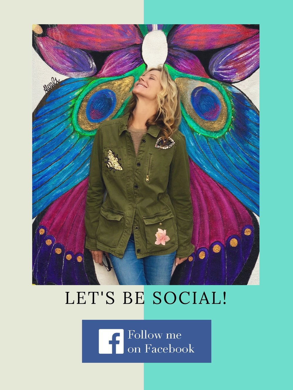Join Me SocialButterflies! Let's fly and have some fun... Jacket created  @Socialbutterfliesla