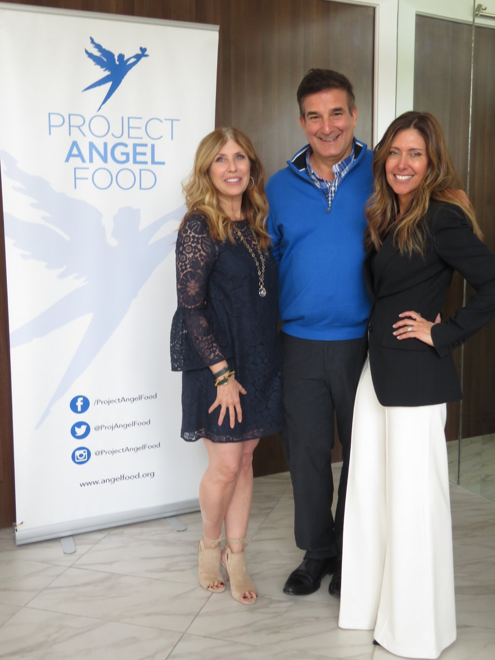 Linda Thompson - Founder  Olie Biologique / Richard Ayoub - Executive Director / Project Angel Food / Melissa Meyers - Founder - The Glow Girl