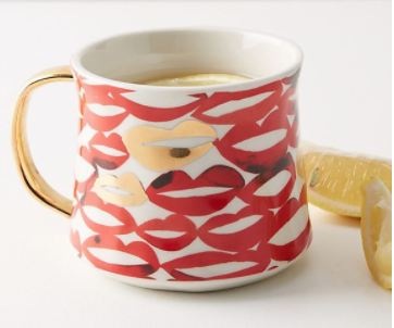 Give your Mom a big KISS with this  Boca Mug