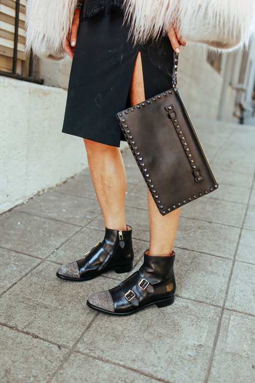 The Office of Angela Scott     Mr. Dean Black Monkstrap Boot     // Shop her website   HERE!