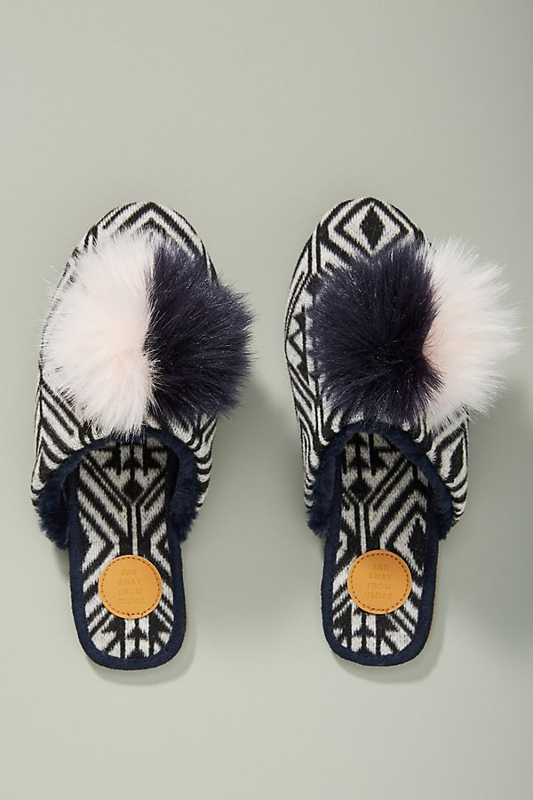 Anthropologie Pommed Slippers