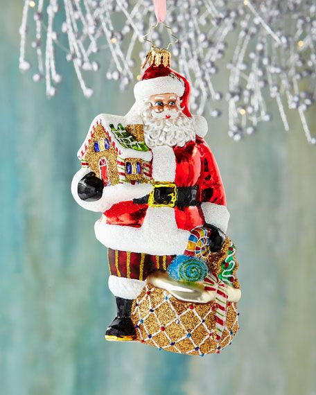 Christopher Radko Gingerbread Jubilee Ornament