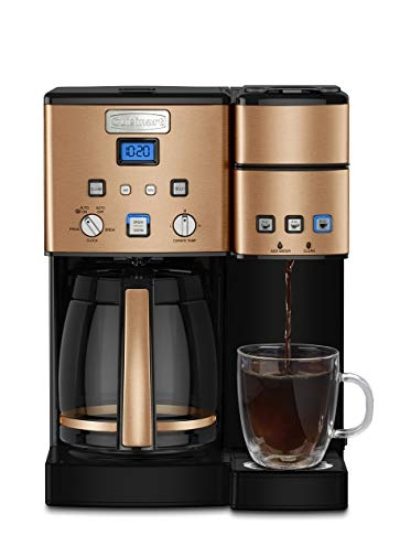 Cuisinart 12-Cup Coffee Maker in Copper