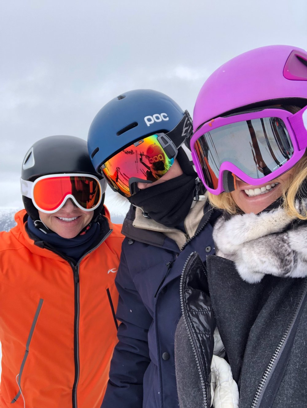 Kjus  /  Canada Goose  / Frauenschuh /  Poc  Helmet