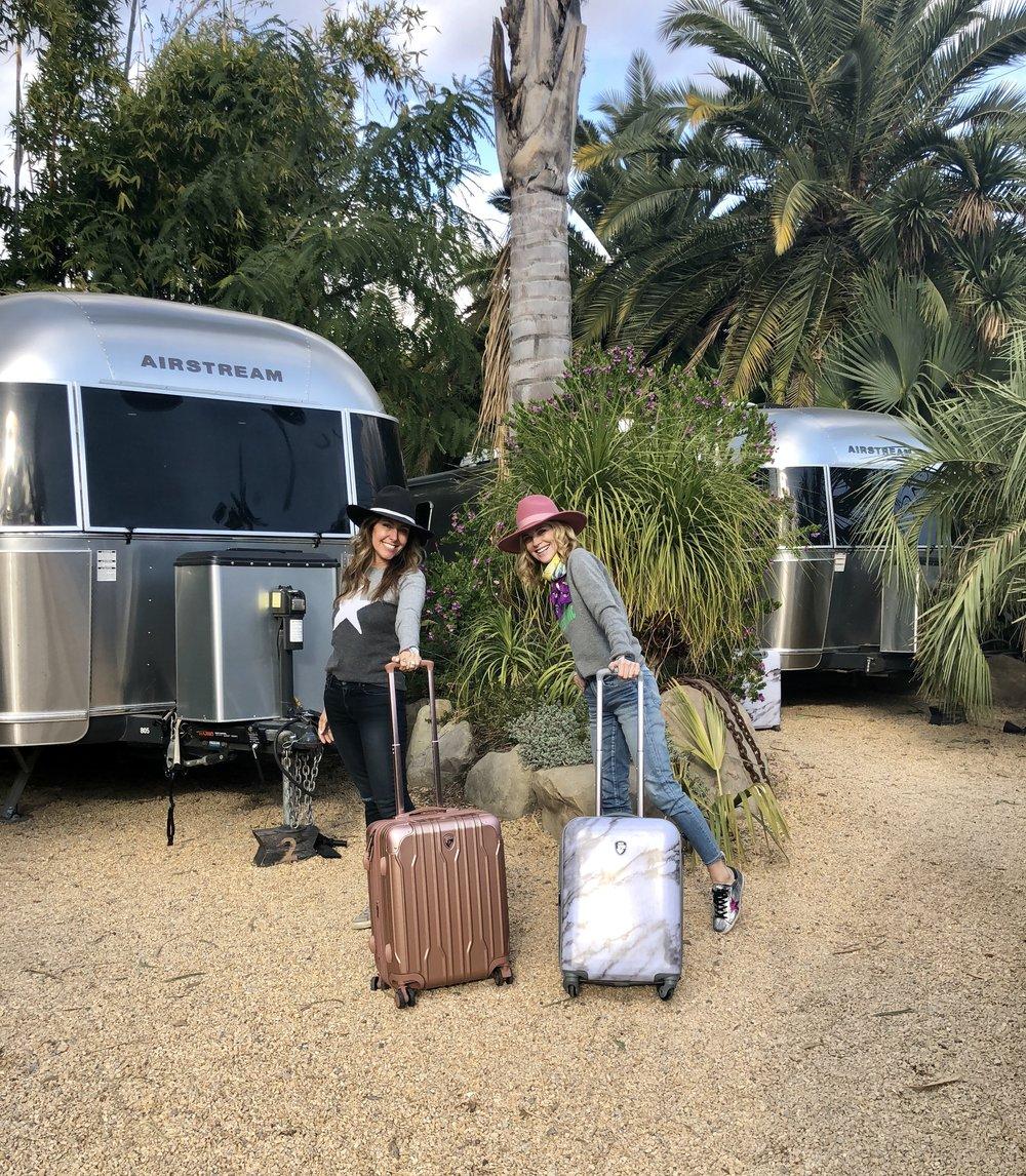 Janet Gunn + The Grateful Gardenia + Heys + Melissa Meyers + Caravan Outpost
