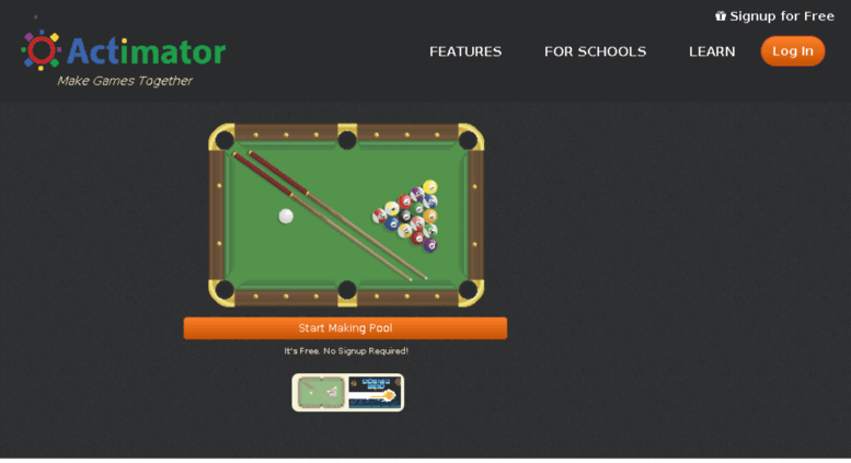 Legacy Homepage