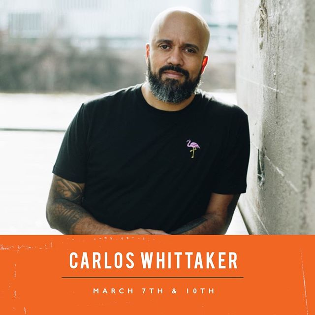 We are so excited to have our friend Carlos Whittaker joining us this weekend! ⠀ //⠀ Service tonight | Denton Campus | 7pm