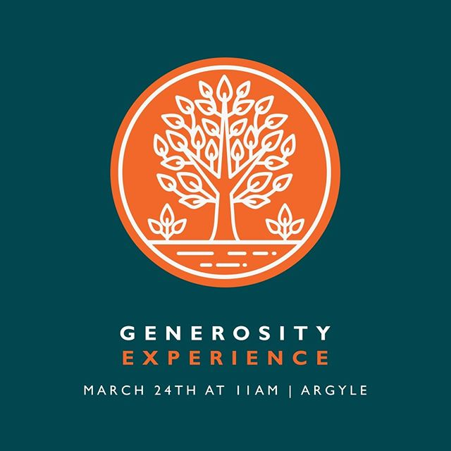 How does generosity have the power to bring more joy and freedom in our lives? Find out at the Generosity Experience! Registration link in bio☝️