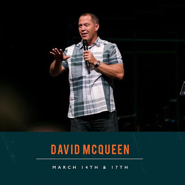 Guess who is visiting CT this week...David McQueen! He has an awesome message in store for everyone. Hope to see you there! 🎉 ⠀ //⠀ -Argyle | Sundays 9:15am & 11am⠀ -Denton | Thursdays 7pm and Sundays 10am & 11:30am⠀ -Lake Cities | Sundays 10am