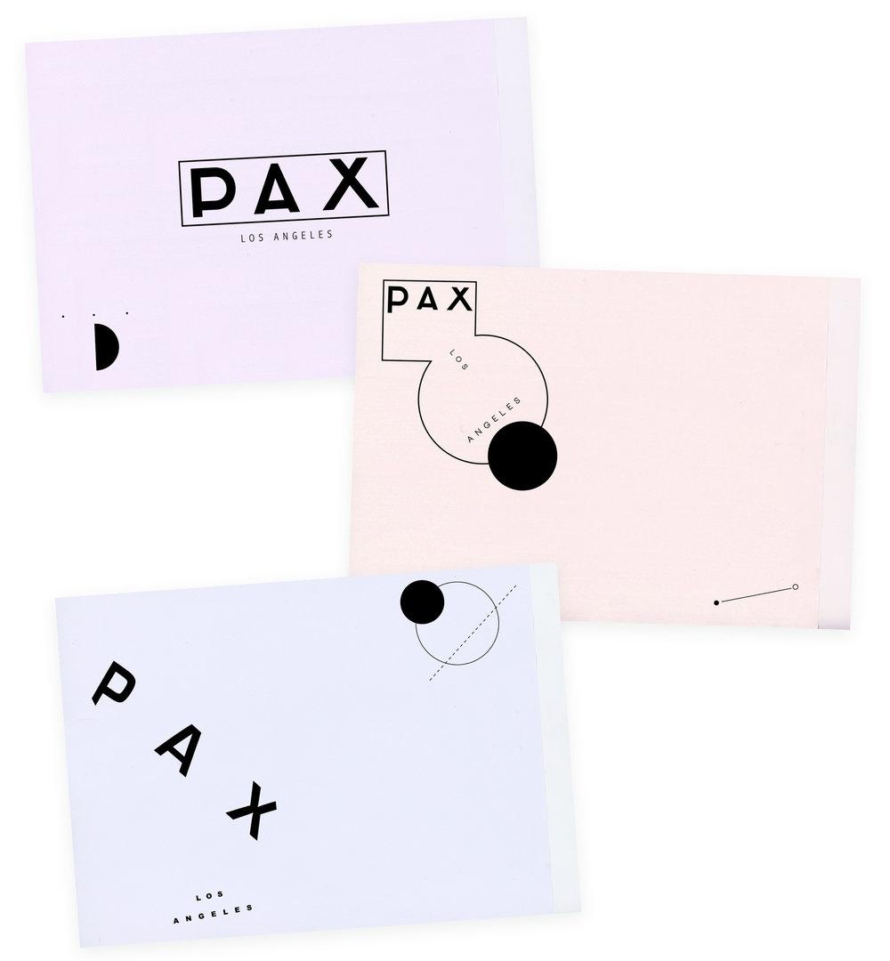 PAX Ceramics, brand identity development
