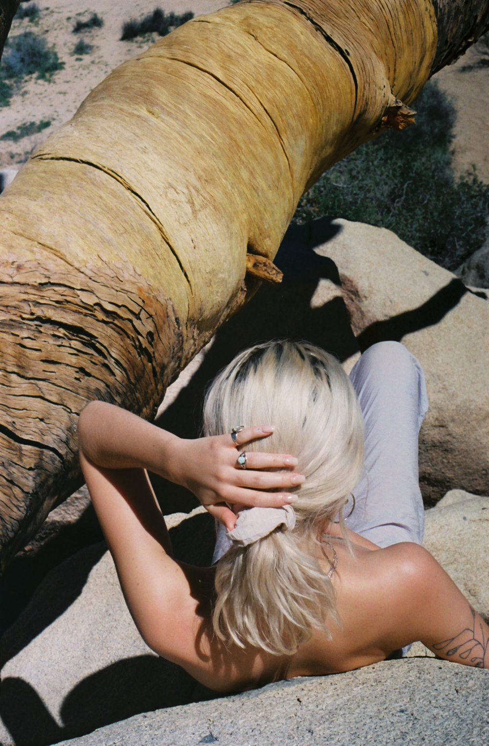 client -  LACAUSA  :  48 Hours In Joshua Tree  digital editorial content, 35mm