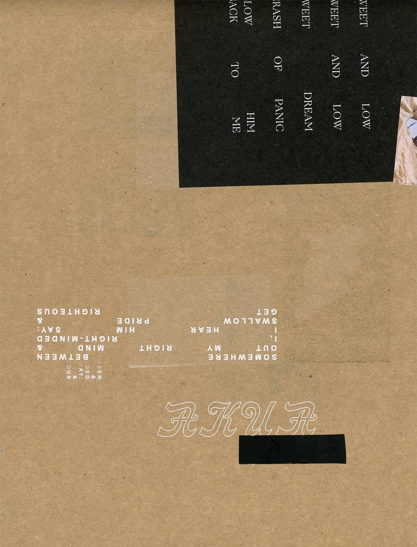 Akua, Them Spirits: album concept art