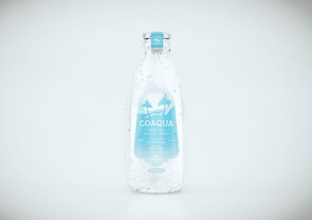 Coaqua pure coconut water