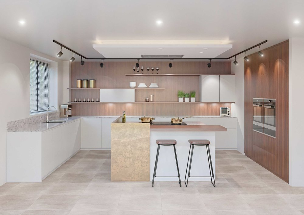 Visuals and Video Kitchen interior