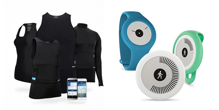 Hexoskin Smart Shirts, Withings Go