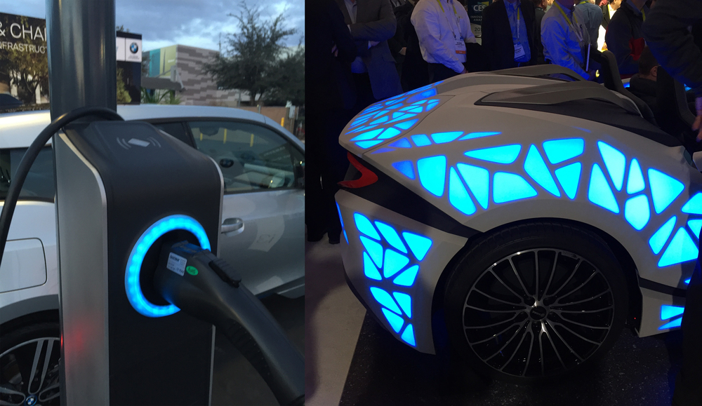 BMW Electric Charger, Bosch Haptic Touch concept car