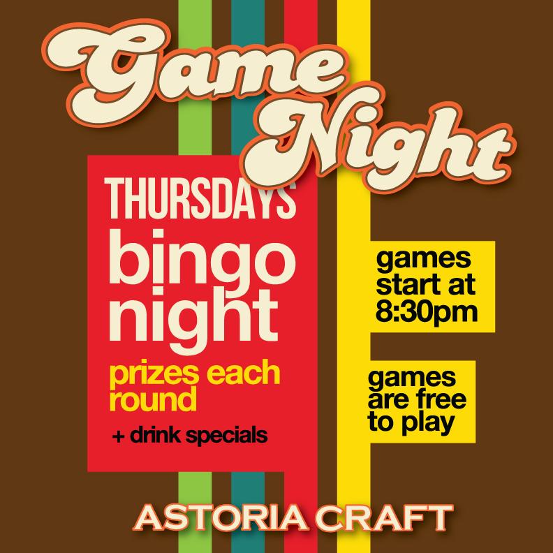Play Bingo - Astoria Park